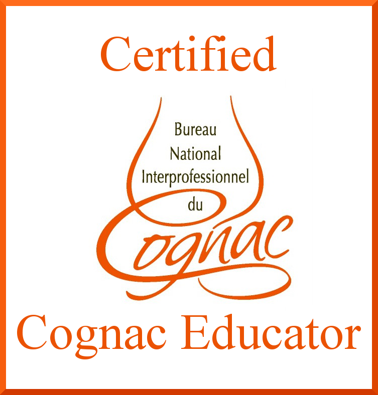 Certified as a professional Cognac Educator by his peers