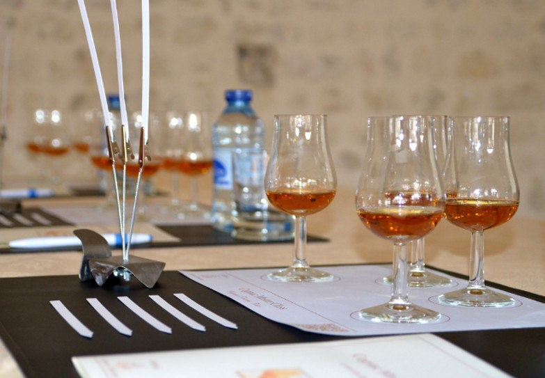 """Cognac masterclass with a certified and independant """"Cognac Educator"""""""