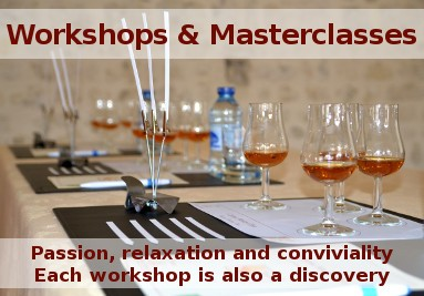 Workshop and Masterclass in the Cognac country