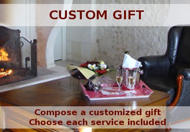 Compose a customized gift, choose each service included and receive the gift voucher