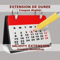 Validity extension of a workshop coupon