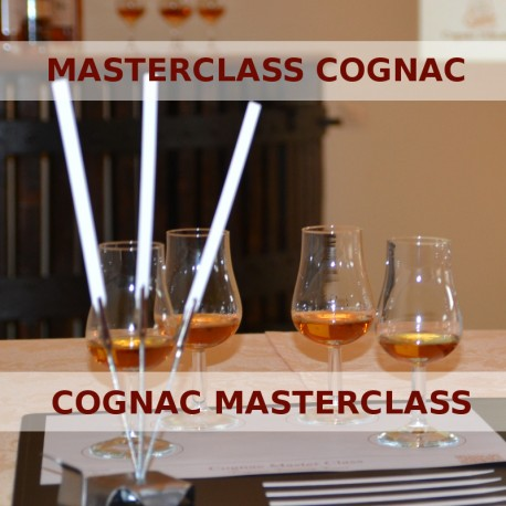 Cognac masterclass with a certified educator