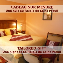 Gift with a night at the Relais de Saint Preuil in a Deluxe room