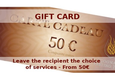 Gift cards to offer - Leave the recipient the choice of services - From 50€