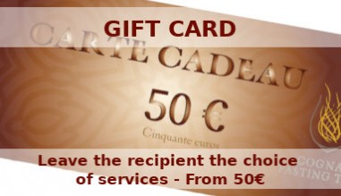 Gift Cars to offer - Leave the recipient the choice of services - From 50€